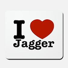 I love Jagger Mousepad