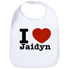 I love Jaidyn Bib