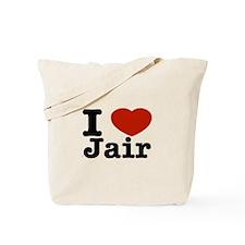 I love Jair Tote Bag