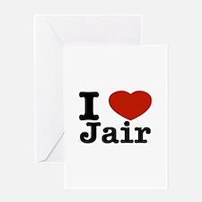 I love Jair Greeting Card