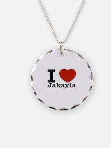 I love Jakayla Necklace