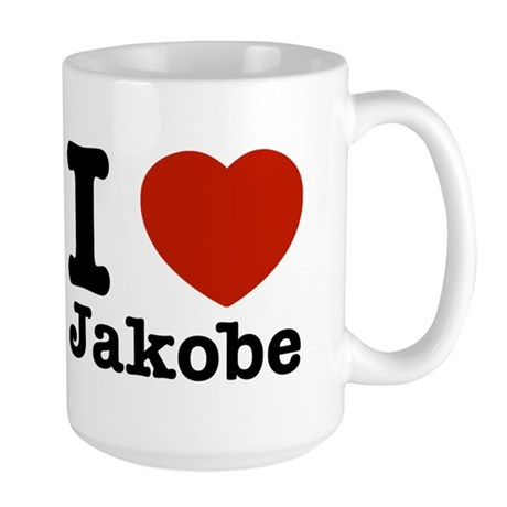 I love Jakobe Large Mug