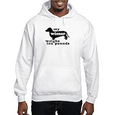 Ten Lb. Wiener Hoodie
