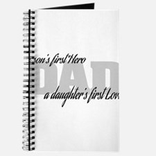 Son's First Hero - Daughter's First Love Journal