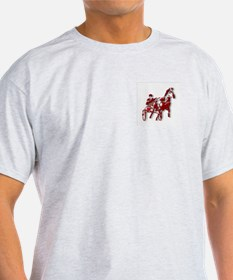 Red Pacer Ash Grey T-Shirt