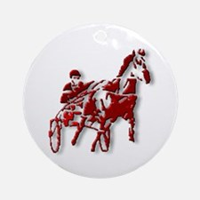 Red Pacer Ornament (Round)