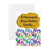 Pharmacy card Greeting Cards