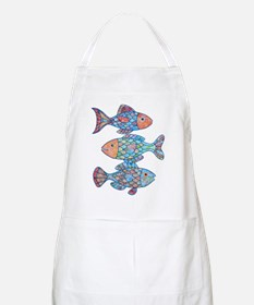 Fishes 3 Apron