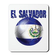 Futbol de El Salvador Mousepad