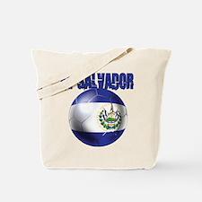 Futbol de El Salvador Tote Bag