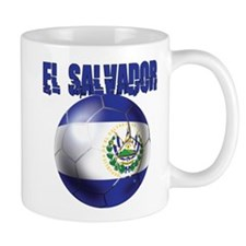 Futbol de El Salvador Small Mug