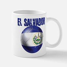 Futbol de El Salvador Small Small Mug