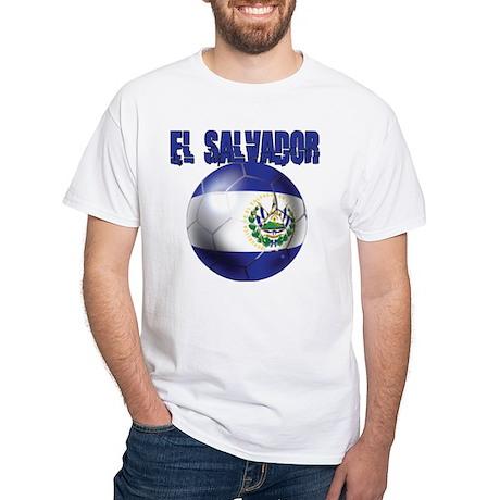 Futbol de El Salvador White T-Shirt