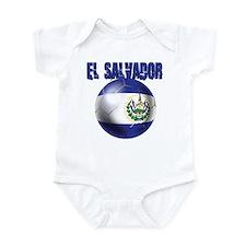 Futbol de El Salvador Infant Bodysuit