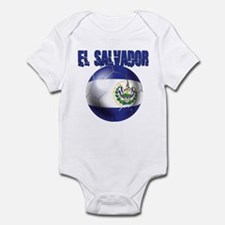 Futbol de El Salvador Infant Bodysuit