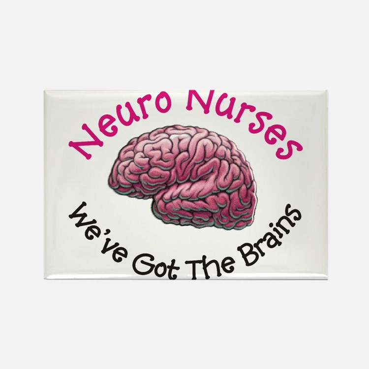 Neuro Nurse Rectangle Magnet