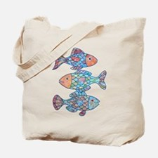 Fishes 3 Tote Bag