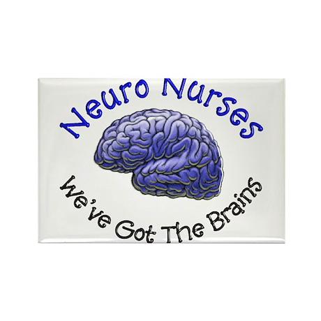 Neuro Nurse Rectangle Magnet (100 pack)