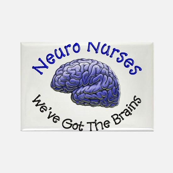 Neuro Nurse Rectangle Magnet (10 pack)