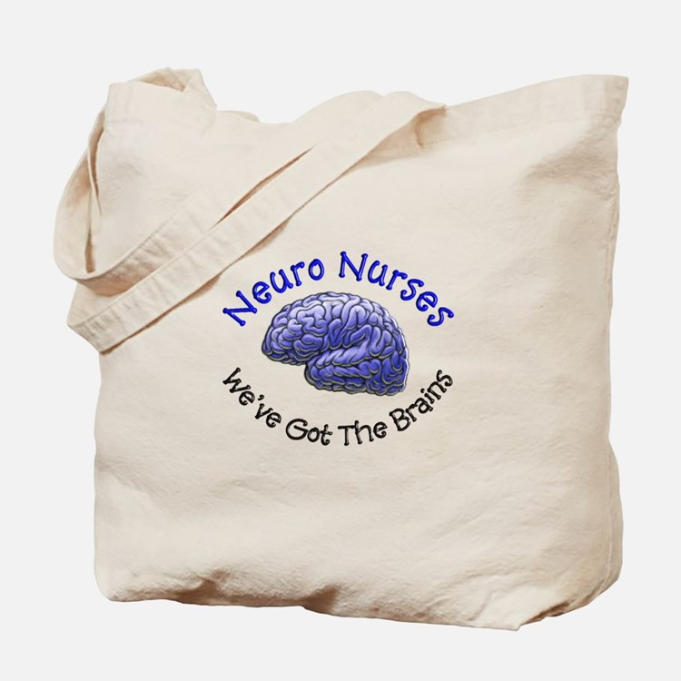 Neuro Nurse Tote Bag