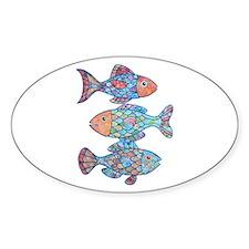 Unique Fish Decal