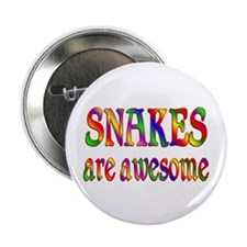 """Awesome SNAKES 2.25"""" Button (10 pack)"""