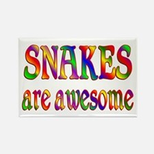 Awesome SNAKES Rectangle Magnet