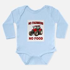 FEEDING THE WORLD Long Sleeve Infant Bodysuit