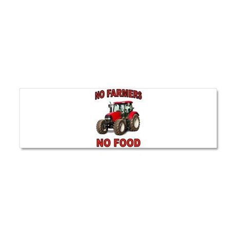 FEEDING THE WORLD Car Magnet 10 x 3