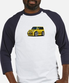 Scion XB Yellow Car Baseball Jersey