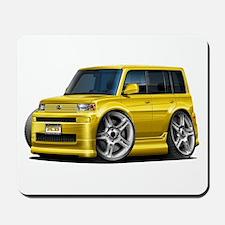 Scion XB Yellow Car Mousepad