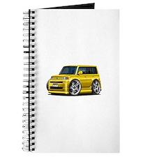 Scion XB Yellow Car Journal