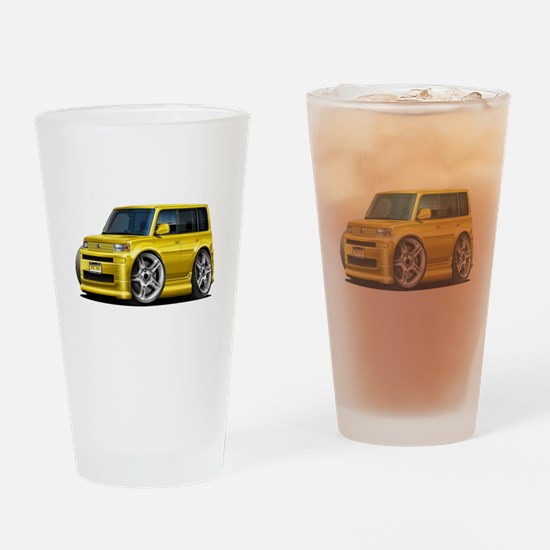 Scion XB Yellow Car Drinking Glass