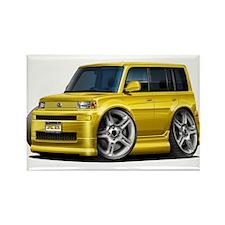 Scion XB Yellow Car Rectangle Magnet