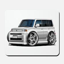Scion XB White Car Mousepad