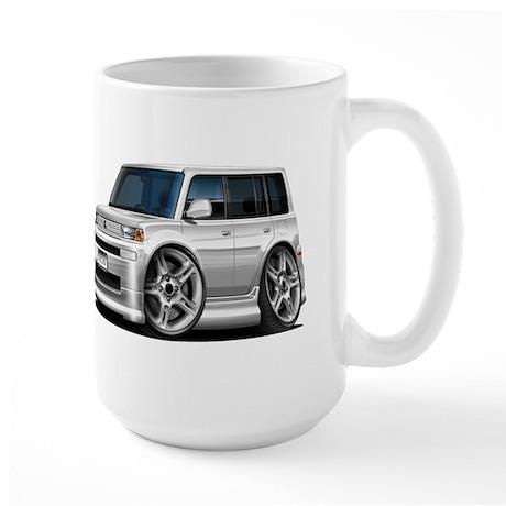 Scion XB White Car Large Mug