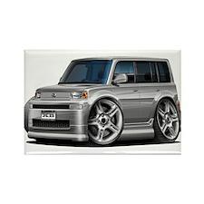 Scion XB Silver Car Rectangle Magnet