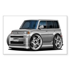Scion XB Silver Car Decal