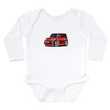 Scion XB Red Car Long Sleeve Infant Bodysuit