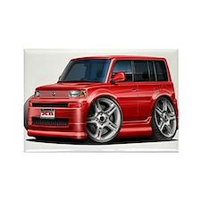 Scion XB Red Car Rectangle Magnet
