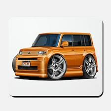 Scion XB Orange Car Mousepad