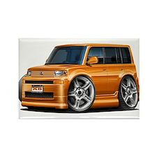 Scion XB Orange Car Rectangle Magnet