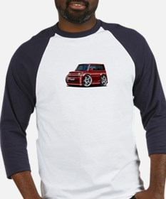 Scion XB Maroon Car Baseball Jersey