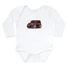 Scion XB Maroon Car Long Sleeve Infant Bodysuit