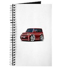 Scion XB Maroon Car Journal