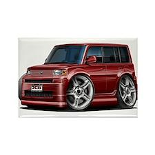 Scion XB Maroon Car Rectangle Magnet