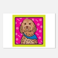Cockapoo Cartoon Postcards (Package of 8)