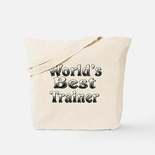 WORLDS BEST Trainer Tote Bag