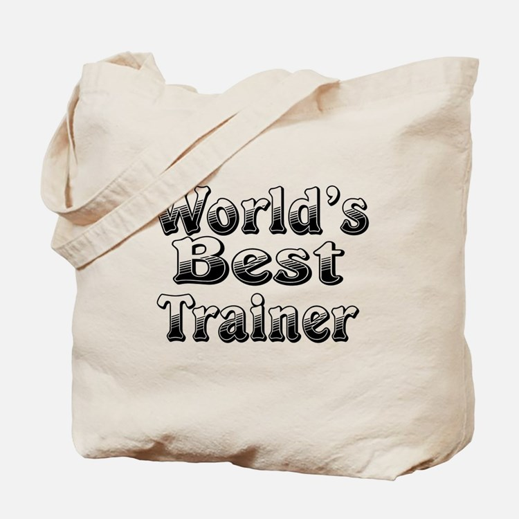 WORLDS BEST Trainer Tote Bag