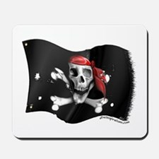 Caribbean Pirate Flag Mousepad